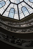 Spiral Stairs of the Vatican Museum Royalty Free Stock Photos