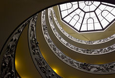 Spiral Stairs of the Vatican Museum Stock Photography