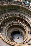 Spiral stairs in Vatican Museums, Rome Stock Photos