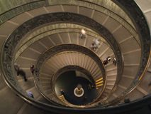 Spiral Stairs at Vatican Museums - Vatican City Italy - Creative Commons by gnuckx Royalty Free Stock Image