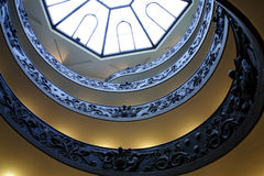 Spiral stairs of the Vatican, Rome. Stock Images