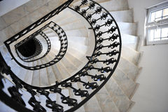 Spiral stairway Stock Image