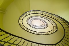 Spiral stairway Stock Photography