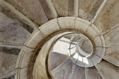 Spiral stairway Royalty Free Stock Images