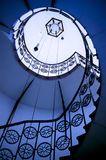 Spiral stairway Stock Photos