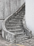 Spiral stairway Stock Images