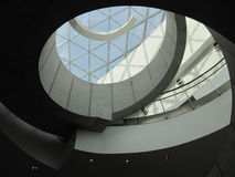 Spiral stairway in Dali museum Royalty Free Stock Photos