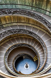 Spiral stairway of the Vatican Museums. Rome, Italy. Famous spiral stairway of the Vatican Museums Royalty Free Stock Photography