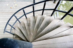 Spiral Stairway Royalty Free Stock Photos