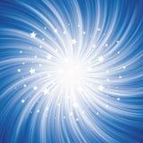 Spiral Starburst Royalty Free Stock Photo
