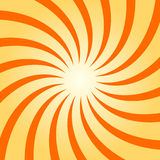 Spiral starburst, sunburst background set. Lines, stripes with twirl, rotating distortion effect. Royalty Free Stock Photo