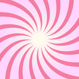 Spiral starburst, sunburst background set. Lines, stripes with twirl, rotating distortion effect. Stock Photo