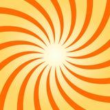Spiral starburst, sunburstbakgrundsuppsättning Linjer band med piruetten, roterande distorsionseffekt Royaltyfri Foto