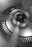 Spiral steps Stock Image