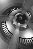 Spiral steps Stock Image
