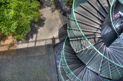 Spiral Steps Cologne Royalty Free Stock Image
