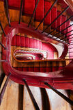 Spiral steps in old house Royalty Free Stock Images