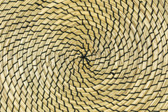 Spiral straw textured background Royalty Free Stock Photography