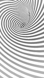 Spiral Striped Abstract Tunnel Background Stock Photos