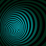 Spiral Striped Abstract Tunnel Background. Vector Illustration Royalty Free Stock Image