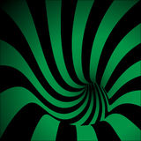Spiral Striped Abstract Tunnel Background. Vector Illustration Stock Photography
