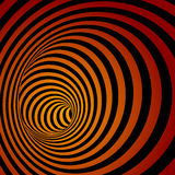 Spiral Striped Abstract Tunnel Background. Royalty Free Stock Image