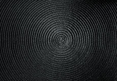 Spiral structure. Very fine spiral textile texture Royalty Free Stock Images