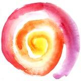 spiral sun Royaltyfri Fotografi