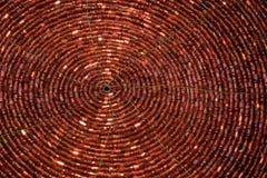Spiral tillbaka Arkivbild