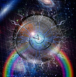 Spiral of time Stock Photo