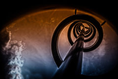 Spiral to heaven Royalty Free Stock Images