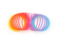 Spiral toy Royalty Free Stock Images
