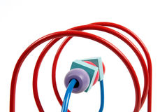 Spiral toy Stock Photography