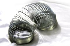 Spiral toy. Royalty Free Stock Photos