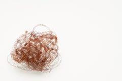 Spiral tråd arkivfoto