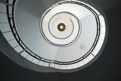 spiral trappa Fotografering för Bildbyråer