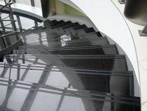 spiral trappa royaltyfri fotografi