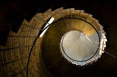 spiral trappa Arkivfoton