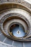 Spiral trappa av Vaticanenmuseerna Fotografering för Bildbyråer