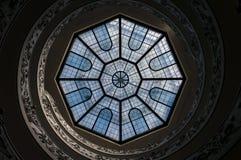 Spiral trappa av Vaticanenmuseerna Royaltyfri Bild