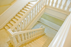 spiral trappa för fall Fotografering för Bildbyråer