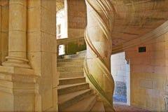spiral trappa för fall Royaltyfria Foton