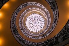spiral trappa vatican för museum Royaltyfri Foto