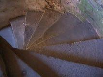 spiral trappuppgång 2 Arkivbilder