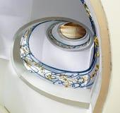 spiral trappuppgång Royaltyfri Fotografi