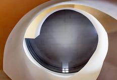 spiral trappuppgång Arkivbilder