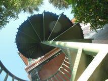 spiral trappuppgång Royaltyfria Foton