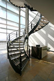 spiral trappuppgång Fotografering för Bildbyråer