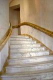 spiral trappuppgång för marmor Royaltyfri Foto
