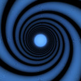 Spiral tunnel Royalty Free Stock Photo